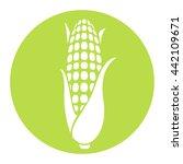 corn icon. corncob. | Shutterstock .eps vector #442109671