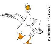 goose | Shutterstock .eps vector #442117819