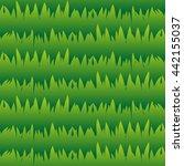 seamless grass pattern  lawn... | Shutterstock . vector #442155037