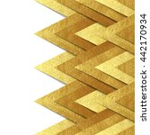 vector background with metallic ... | Shutterstock .eps vector #442170934