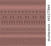 scandinavia  yakutia texture.... | Shutterstock .eps vector #442177864