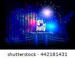 easy to edit vector... | Shutterstock .eps vector #442181431