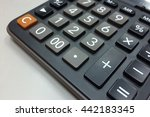 calculator numpad | Shutterstock . vector #442183345