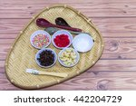 spices and utensils for making... | Shutterstock . vector #442204729