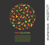 vector collection of fresh... | Shutterstock .eps vector #442207177