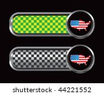 american icon green and black... | Shutterstock .eps vector #44221552