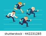 vector illustration business... | Shutterstock .eps vector #442231285