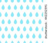 blue rain white background...   Shutterstock .eps vector #442252591