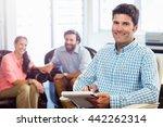 psychologist helping a couple... | Shutterstock . vector #442262314