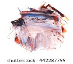 photo colorful grunge brush... | Shutterstock . vector #442287799