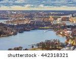 stockholm  sweden. aerial view... | Shutterstock . vector #442318321