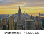new york  united states  ... | Shutterstock . vector #442370131