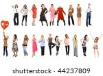 isolated group 141 | Shutterstock . vector #44237809