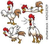 vector illustration of cartoon... | Shutterstock .eps vector #442413529