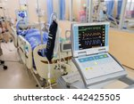 Stock photo vital signs monitor in hospital 442425505
