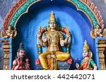 traditional statues of hindu... | Shutterstock . vector #442442071