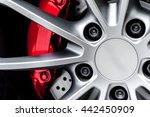 close up of a modern sport... | Shutterstock . vector #442450909