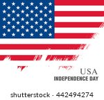 independence day of the united... | Shutterstock .eps vector #442494274