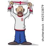 england soccer supporter | Shutterstock .eps vector #442513879
