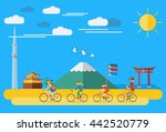 flat design  illustration of... | Shutterstock .eps vector #442520779