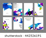 abstract background. geometric... | Shutterstock .eps vector #442526191