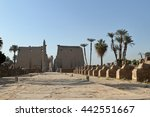 the temples of luxor in egypt | Shutterstock . vector #442551667
