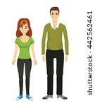 parents vector.    Shutterstock .eps vector #442562461