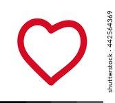 heart icon illustration design