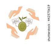 olive oil design  | Shutterstock .eps vector #442575619