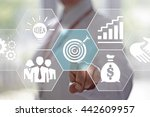 business  technology and... | Shutterstock . vector #442609957