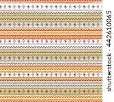 uncommon ethnic pattern.... | Shutterstock .eps vector #442610065