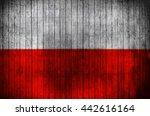 National Flag Of Poland On A...