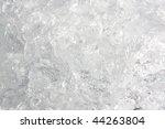 full frame ice background ... | Shutterstock . vector #44263804