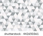 colorful geometric triangle... | Shutterstock .eps vector #442650361