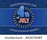 vector banner illustration of...   Shutterstock .eps vector #442676485