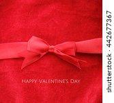 happy valentine's day  elegant... | Shutterstock . vector #442677367