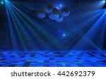 Disco Party Interior Backgroun...