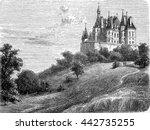chateau de boursault or...   Shutterstock . vector #442735255