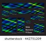 nine sizes of common web...