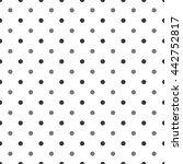 geometric pattern vector ... | Shutterstock .eps vector #442752817