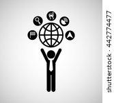 gps service design    Shutterstock .eps vector #442774477