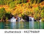 Beautiful View Of Waterfalls...