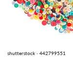 plastic buttons  backgrounds ... | Shutterstock . vector #442799551