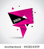 special price bubble with... | Shutterstock .eps vector #442814359