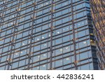 glass windows pattern on the... | Shutterstock . vector #442836241