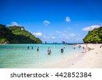 krabi  thailand   june 12th...   Shutterstock . vector #442852384