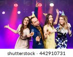 party  holidays  celebration ... | Shutterstock . vector #442910731