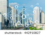 the sharing economy concept.... | Shutterstock . vector #442910827