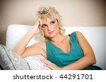 girl thinking | Shutterstock . vector #44291701