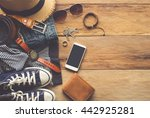 clothing and accessories for... | Shutterstock . vector #442925281